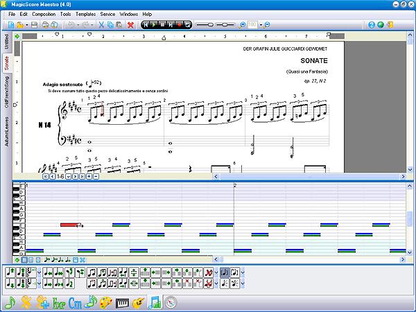Musical Editor ===>>> Magic Score -:-:- FUTURE STYLE