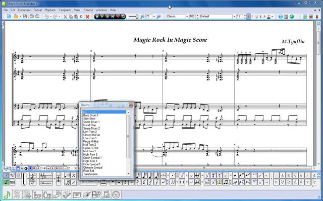 Drum Notation Software