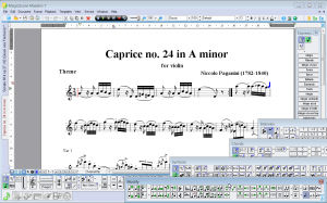 mssGuitar   guitar tab and notation software