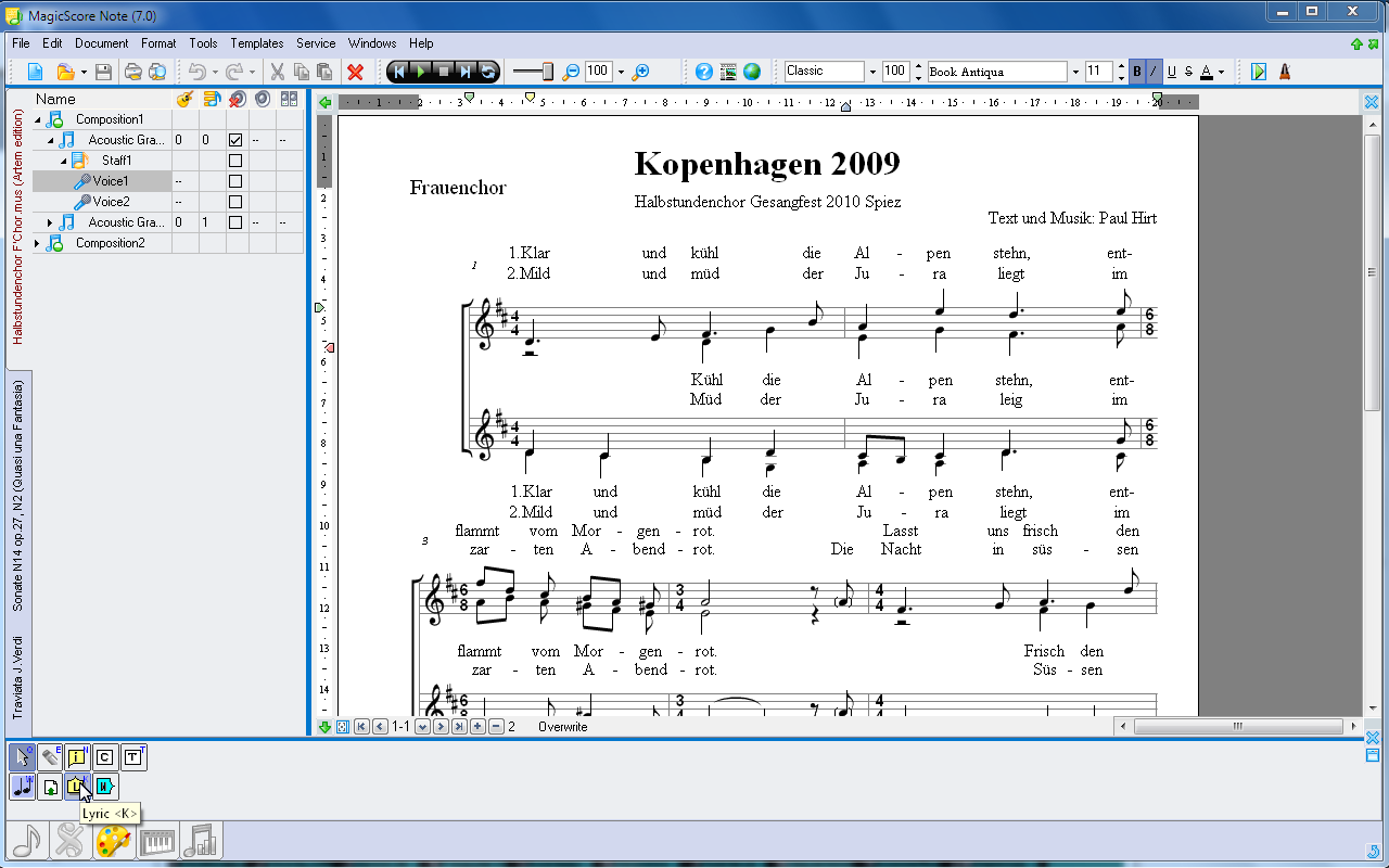 free sheet music software