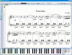 MagicScore Virtual Piano   Virtual Piano Keyboard software