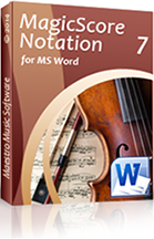 MagicScore   the Music Notation Software, Inspired by Music