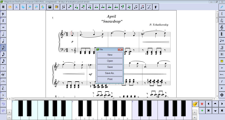 MagicScore OneTouch Composer 2