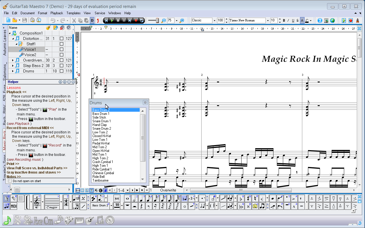 Whats New in MagicScore Guitar 8?