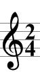 Music theory. Time Signature and Durations