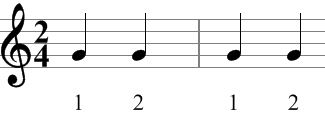 Music theory. Rhythm