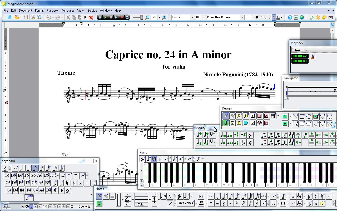 software gratis magicscore